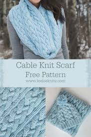 Cable Knit Scarf Pattern Awesome Braided Cables Winter Scarf Knitting Pattern Leelee Knits