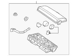 2011 cadillac srx fuse relay box 20895342 symes gm parts fuse relay box gm 20895342