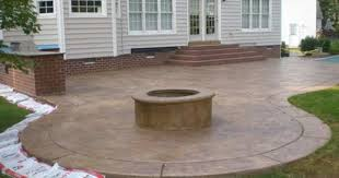 Decorative Concrete Patio Designs F94X About Remodel Stunning