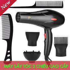 Máy Sấy Tóc Furin-Máy sấy tóc DELIYA loại cao cấp sấy 2 chiều nóng - lạnh  công suất 2200w chuyên dụng cho Spa
