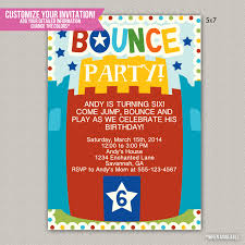 bounce house party invitation wording inexpensive com fabulous bounce house party invitation wording 4 especially inspiration article