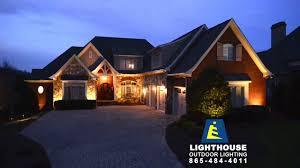 outside lighting using low voltage led lighting system by lighthouse of knoxville