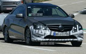 The world of driving performance. Spied Face Lifted 2013 Mercedes Benz E Class Coupe And Sls Amg Black Series