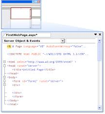 Walkthrough: Creating a Basic Web Forms Page in Visual Studio
