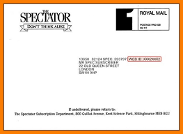 9 Letter Format Address Envelope Ledger Paper