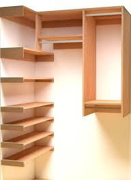 Wood closet shelving Linen Closet Stepin Closet Organizer Plans Stepin Closet Organizer Plans Closet Laundry Room Ideas