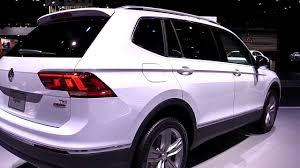 volkswagen suv white. 2018 volkswagen tiguan allspace pearl white   exterior and interior first impression look in 4k suv a
