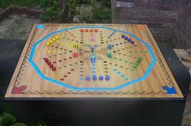 Wooden Aggravation Board Game New aggravation type board game w celtic cross WoodDesigner 36