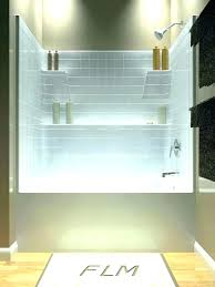 replace bathtub with shower cost