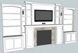 Home Theater Cabinet Home Theater Update Built In Cabinets 3d Model All Apple