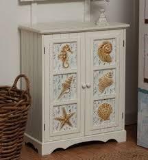 beach coastal furniture. beach themed decor seashell 2door cabinet beachdecorshop coastal furniture
