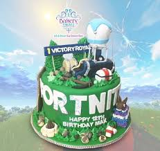 Fortnite Birthday Cake Picture Of Bakery Treatz Chaguanas