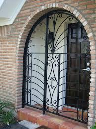 Front Doors: Awesome Front Door Burglar Bar. Front Door Burglar Bars.