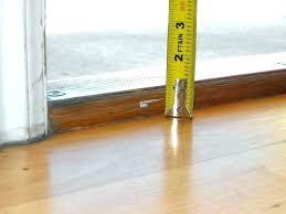 flooring thresholds transitions post