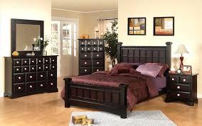 black wood bedroom furniture. Bedroom Black Furniture Solid Wood Queen Bed I