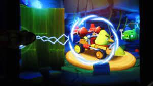Angry Birds GO! Telepods Pig Rock Raceway - Unlock Mega Rocket L6, Chuck's  Kart in Stunt Chapter