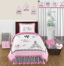 paris 4pc childrens and kids twin bedding set by sweet jojo designs only 119 99