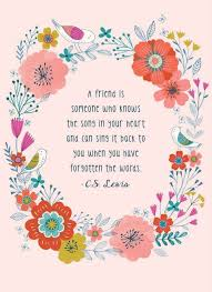 Cs Lewis Quotes On Friendship Awesome 48 Best Friend Quotes On Staying Friends Forever Spirit Button