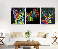 canvas painting for bedroom background design style