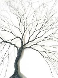 custom made wire wall art tree wire art metal sculpture home for wire wall art