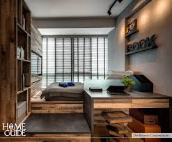 Modern Industrial Bedroom Modern Industrial Rustic Interior Design Concept Bedroom
