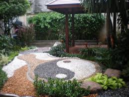 Small Picture how to design a ying yang garden With the use of larger rocks
