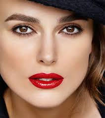 keira knightley wearing rouge coco lip color in gabrielle