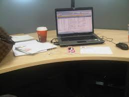 my office desk. my office desk! desk