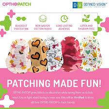 Kids Eye Patches Fun Girls Design 90 10 Bonus Latex