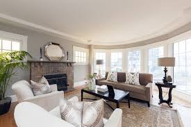 ... Trends Paint Colors Brightly Lit Classically Decorated Living Room ...