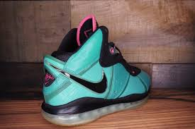 lebron 8. nike-lebron-8-south-beach-size-8.5-new- lebron 8