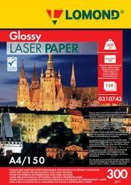 <b>Бумага</b> для лазерной печати <b>Lomond</b> 300/А4/150л. Глянцевая ...