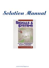 Signals And Systems Oppenheim Solutions