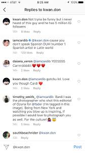 Cardi Bs Instagram Is Creating New Reggaeton Latin Trap Fans