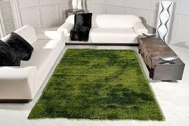Shaggy Crystal Smaragdgrün Trend Teppiche