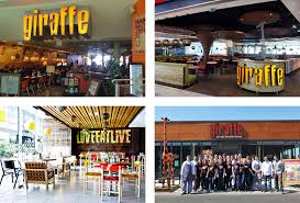 Restaurant Name And Logo Brand New New Name Logo And Identity For Giraffe World Kitchen By
