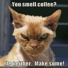 you smell coffee