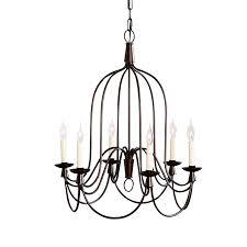 armonk iron cage indoor outdoor chandelier 25 5