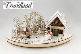 Details Zu Schwibbogen Schneewald 480593 Deko Holz Weihnachten Fensterdeko Led Winter Wald