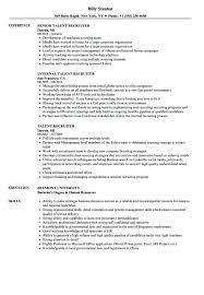Recruiting Resume Examples Wikirian Com