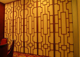 plywood museum folding sound dampening panels sound proof partition walls for exhibition