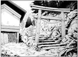 寒村の鳥居 路傍のおにぎり さんのイラスト ニコニコ静画 イラスト