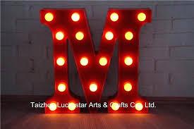 led wall decor light up wooden letter lamp sign alphabet spelling