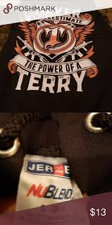 Jerzees The Power Of A Terry Graphic Hoodie Nublend Size S