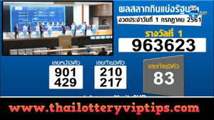 Thailand Lottery live results 01 July 2018 Saudi Arabia on TV - Thai Lottery  VIP Tips - Free King Results 01 October 2020 Thai Lottery VIP Tips