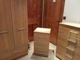 Alstons Manhattan Bedroom Furniture Alstons 3 Piece Wardrobe And Chest Of Drawers Set Manhattan Range