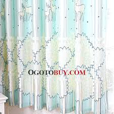 Navy Blue Patterned Curtains Awesome Horse Tree Patterned Girls Bedroom Curtains And Light Sky Blue Blue