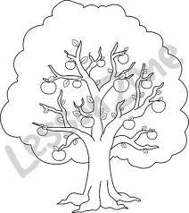 apple tree clipart black and white. apple tree clipart black and white l