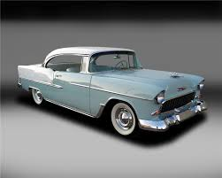 1955 CHEVROLET BEL AIR 2 DOOR HARDTOP - 132837