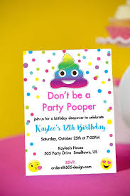 a birthday invitation omg emoji birthday party ideas for the best birthday party ever